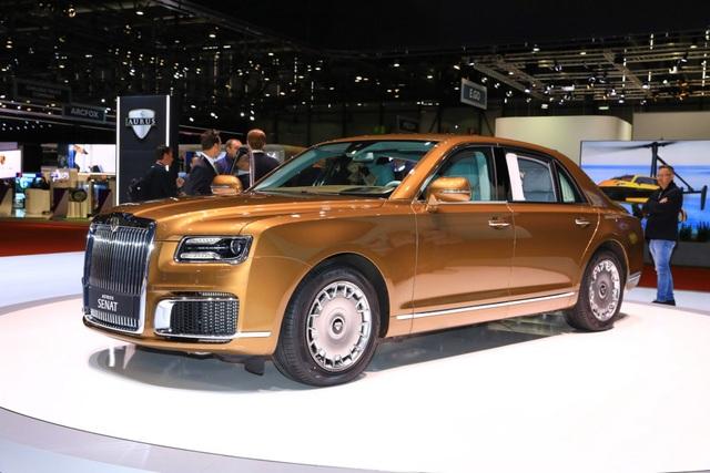 Rolls-Royce của nước Nga chốt giá tương đương hơn 6 tỉ đồng - 4