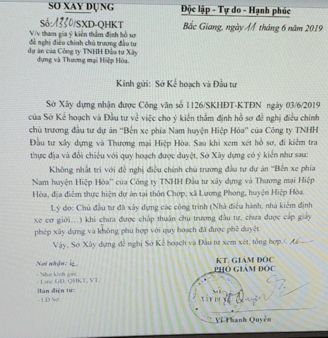 """Doanh nghiệp định làm xiếc nhiều sở ngành tại Bắc Giang: """"Lộ"""" 2 văn bản kỳ quặc! - 4"""