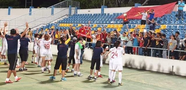 Vượt qua Thái Lan, đội tuyển nữ Việt Nam vô địch Đông Nam Á - 2