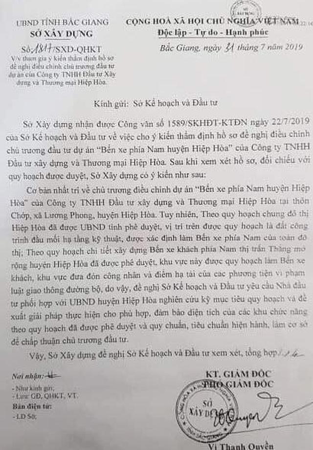"""Doanh nghiệp định làm xiếc nhiều sở ngành tại Bắc Giang: """"Lộ"""" 2 văn bản kỳ quặc! - 3"""