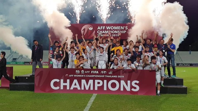 Vượt qua Thái Lan, đội tuyển nữ Việt Nam vô địch Đông Nam Á - 1