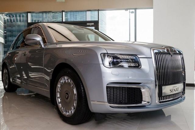 Rolls-Royce của nước Nga chốt giá tương đương hơn 6 tỉ đồng - 1