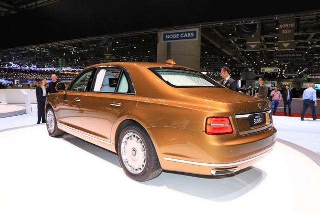 Rolls-Royce của nước Nga chốt giá tương đương hơn 6 tỉ đồng - 6