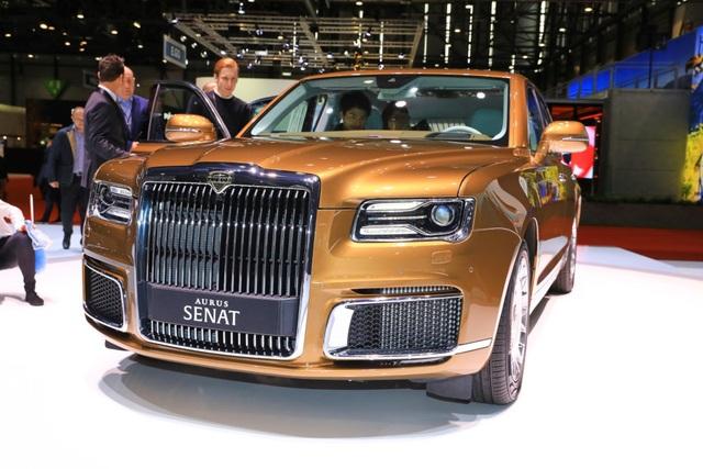 Rolls-Royce của nước Nga chốt giá tương đương hơn 6 tỉ đồng - 2