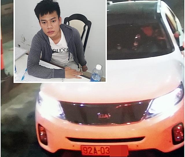 Bắt giam hướng dẫn viên du lịch trộm ô tô