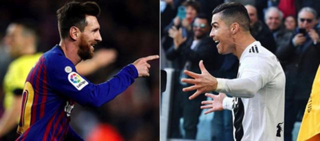 """C.Ronaldo """"vượt mặt"""" Messi về độ nổi tiếng trên trang"""