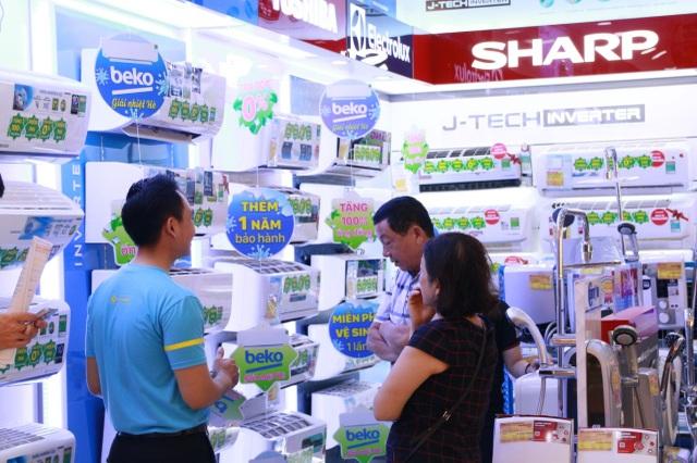 Bán máy lạnh gấp đôi cùng kỳ, Điện máy Xanh chiếm trọn 40% thị phần - 2