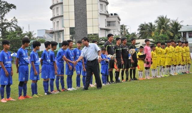 Lộ diện đội bóng đầu tiên vào chung kết giải U13 Yamaha Cup 2019 - 1