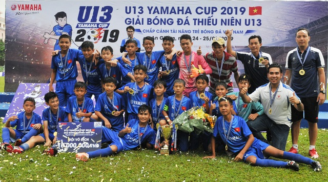 Lộ diện đội bóng đầu tiên vào chung kết giải U13 Yamaha Cup 2019 - 6