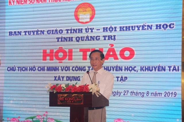 Chăm lo sự nghiệp khuyến học, khuyến tài theo di huấn của Chủ tịch Hồ Chí Minh - 2