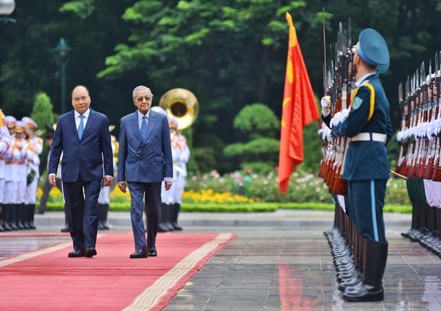 Lễ đón Thủ tướng Malaysia thăm chính thức Việt Nam - 3