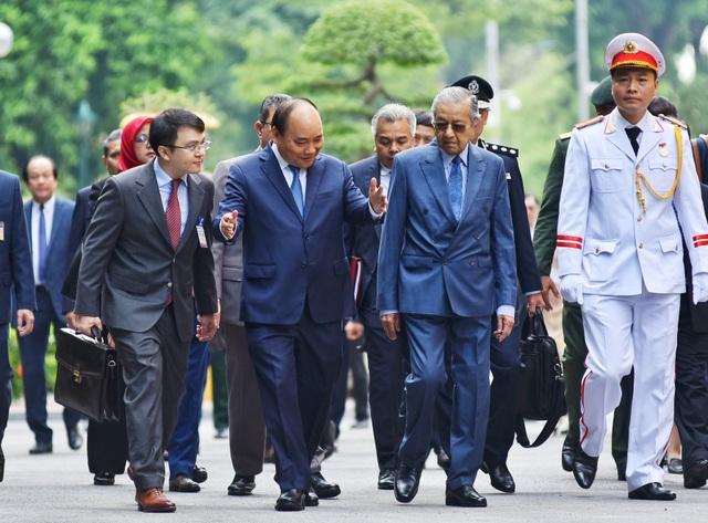 Lễ đón Thủ tướng Malaysia thăm chính thức Việt Nam - 4