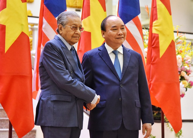Lễ đón Thủ tướng Malaysia thăm chính thức Việt Nam - 5
