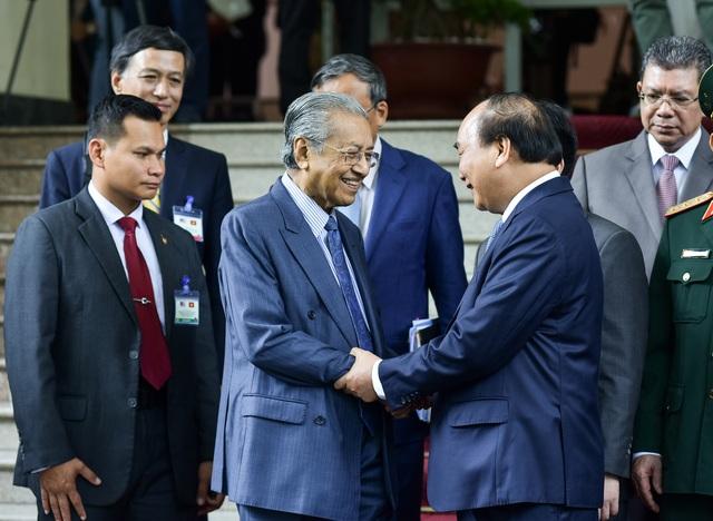 Lễ đón Thủ tướng Malaysia thăm chính thức Việt Nam - 1