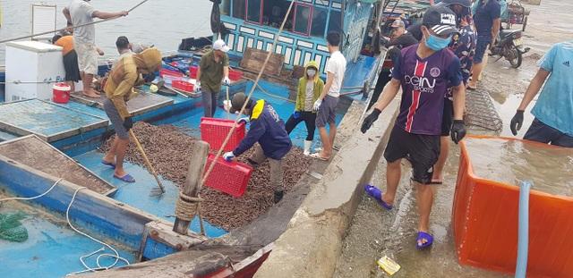 Ngư dân trúng đậm ốc xoắn và sò bi, đút túi hàng triệu đồng/chuyến ra biển - 4