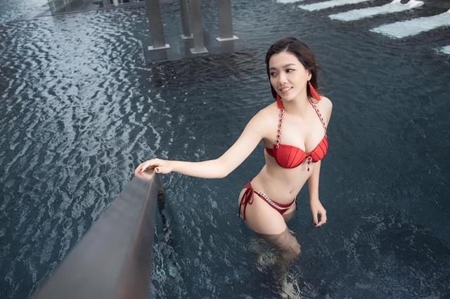Thí sinh Hoa hậu Hoàn vũ Việt Nam từng sợ hãi chụp ảnh bikini sexy - 6