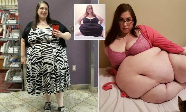 Cô gái cao 1m6 nặng 177 kg bật mí cách kiếm 12000 USD/năm nhờ lợi thế quá khổ - 1