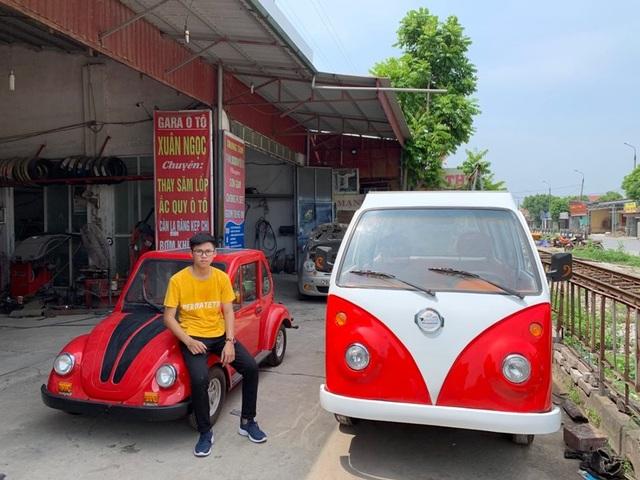 Nam sinh lớp 12 lắp ráp thành công ô tô chạy bằng năng lượng mặt trời chở được 12 người - 6