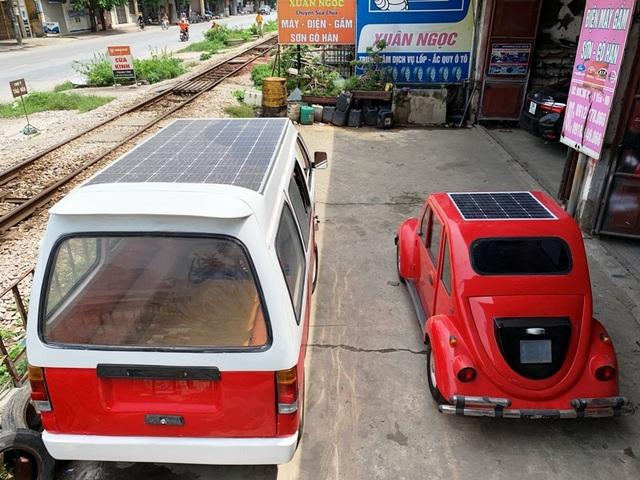 Nam sinh lớp 12 lắp ráp thành công ô tô chạy bằng năng lượng mặt trời chở được 12 người - 8