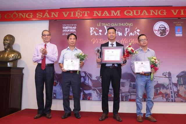 Ý tưởng hồi sinh sông Tô Lịch nhận Giải Bùi Xuân Phái - 6
