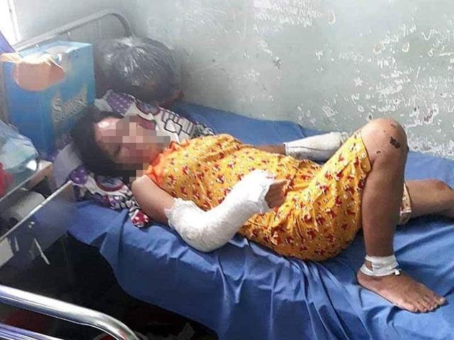 Phẫn nộ người chồng đánh đập tàn bạo vợ đang mang thai 7 tháng - 5