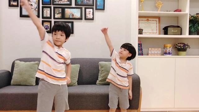 2 bé nhà Đan Lê - Khải Anh siêu đáng yêu trong clip cover Bé Gióng Care 100 - 3