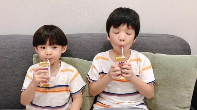 2 bé nhà Đan Lê - Khải Anh siêu đáng yêu trong clip cover Bé Gióng Care 100 - 5