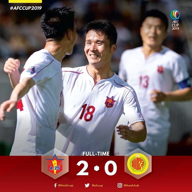 Xác định đối thủ của CLB Hà Nội ở chung kết liên khu vực AFC Cup - 1
