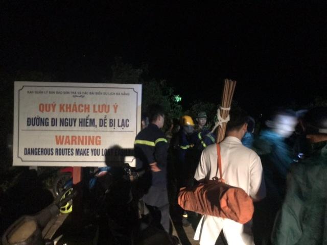 Một người tử vong khi ứng cứu nhóm du khách đi lạc ở bán đảo Sơn Trà - 3