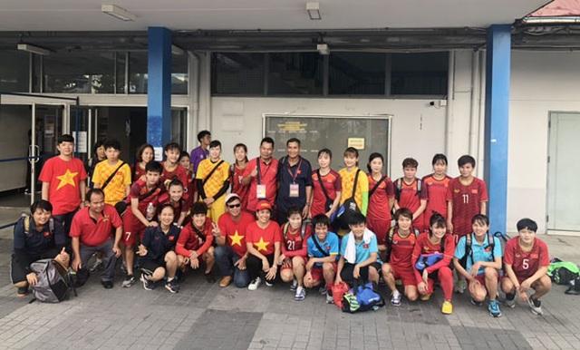 HLV Mai Đức Chung ca ngợi học trò sau chiến thắng trước tuyển nữ Thái Lan