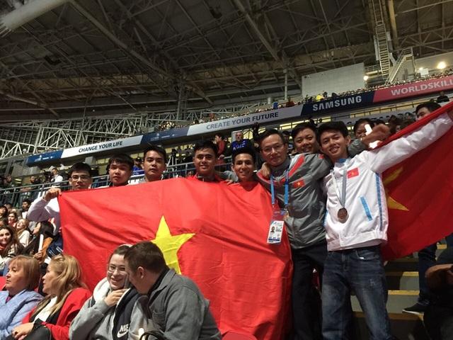 Thí sinh Việt Nam đạt Huy chương bạc tại Kỳ thi tay nghề thế giới - 1