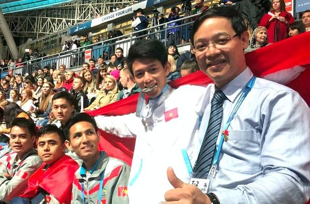 Thí sinh Việt Nam đạt Huy chương bạc tại Kỳ thi tay nghề thế giới - 2