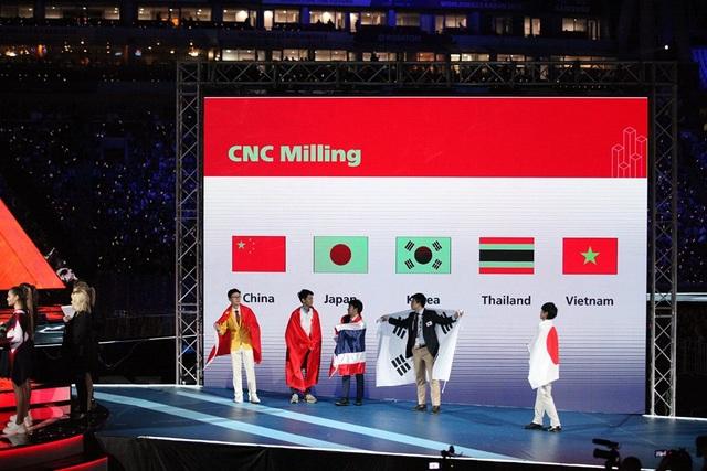 Thí sinh Việt Nam đạt Huy chương bạc tại Kỳ thi tay nghề thế giới - 3