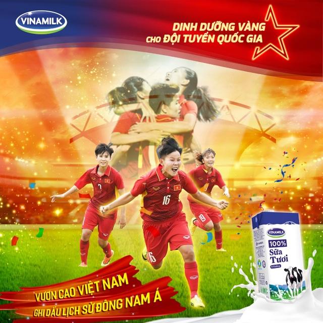Chúc mừng Đội tuyển nữ Quốc gia Việt Nam giành ngôi Quán quân giải bóng đá vô địch Đông Nam Á 2019 – Vươn cao bản lĩnh Việt Nam - 1