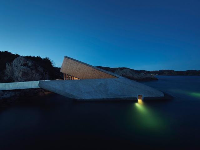 Bên trong nhà hàng dưới nước lớn nhất thế giới ở Na Uy - 1