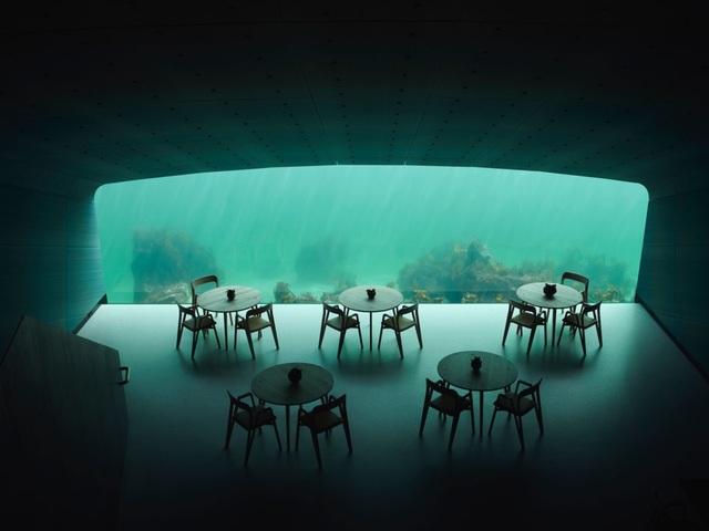 Bên trong nhà hàng dưới nước lớn nhất thế giới ở Na Uy - 2