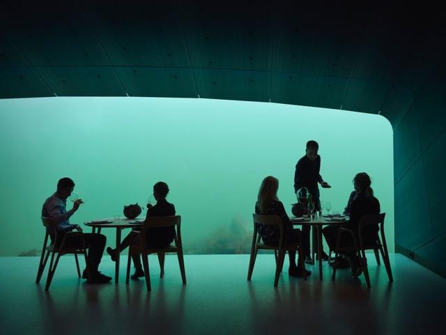 Bên trong nhà hàng dưới nước lớn nhất thế giới ở Na Uy - 6