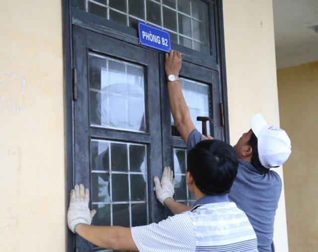 Quảng Bình: Chủ động cho học sinh nghỉ học để đảm bảo an toàn trong bão số 4 - 1