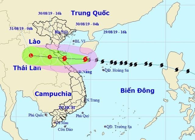 Sáng mai bão số 4 vào đất liền Nghệ An - Quảng Bình - 1