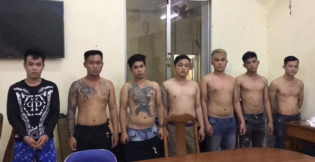 Bắt nhóm giang hồ đập phá nhà hàng ở trung tâm Sài Gòn - 1