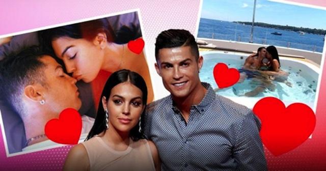 Cận cảnh cuộc sống tình nhân ngọt ngào của C.Ronaldo và bạn gái