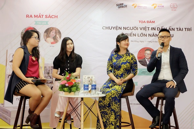 Cuộc trò chuyện truyền cảm hứng tại buổi ra mắt sách Rạng danh tài trí Việt năm châu - 4