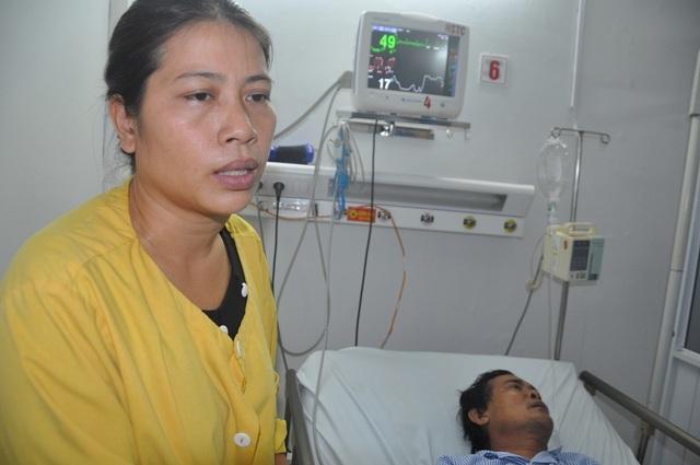 Người vợ ung thư quên đi cái chết, nghẹn ngào cầu xin mọi người cứu chồng - 9