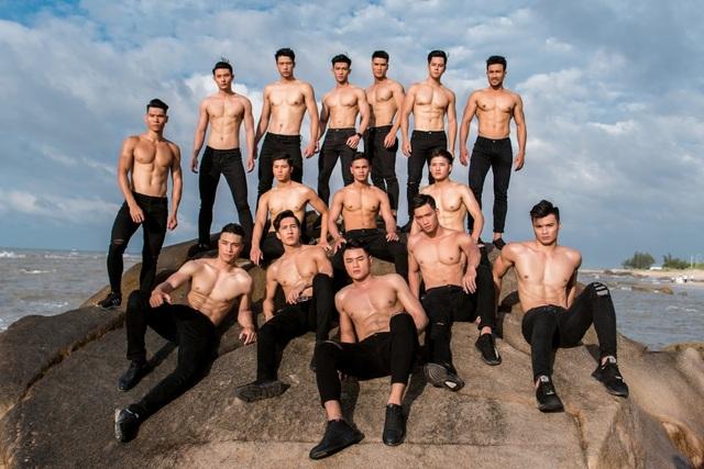Hình thể ấn tượng của top 3 nam thần Mister Fitness - Mister Việt Nam 2019 - 2