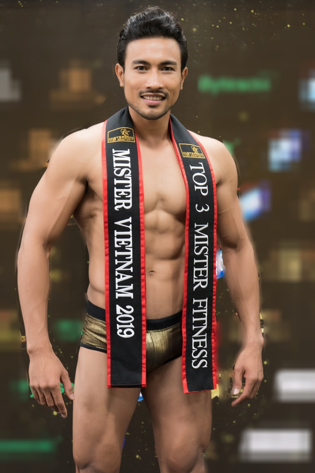 Hình thể ấn tượng của top 3 nam thần Mister Fitness - Mister Việt Nam 2019 - 8