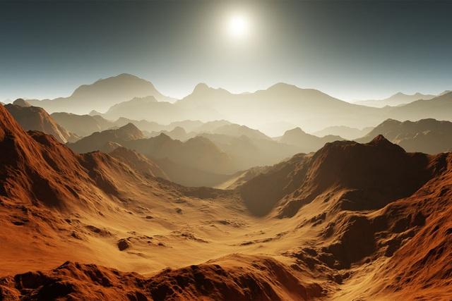 Sao Hỏa đã từng ấm áp và có nhiều mưa - 1
