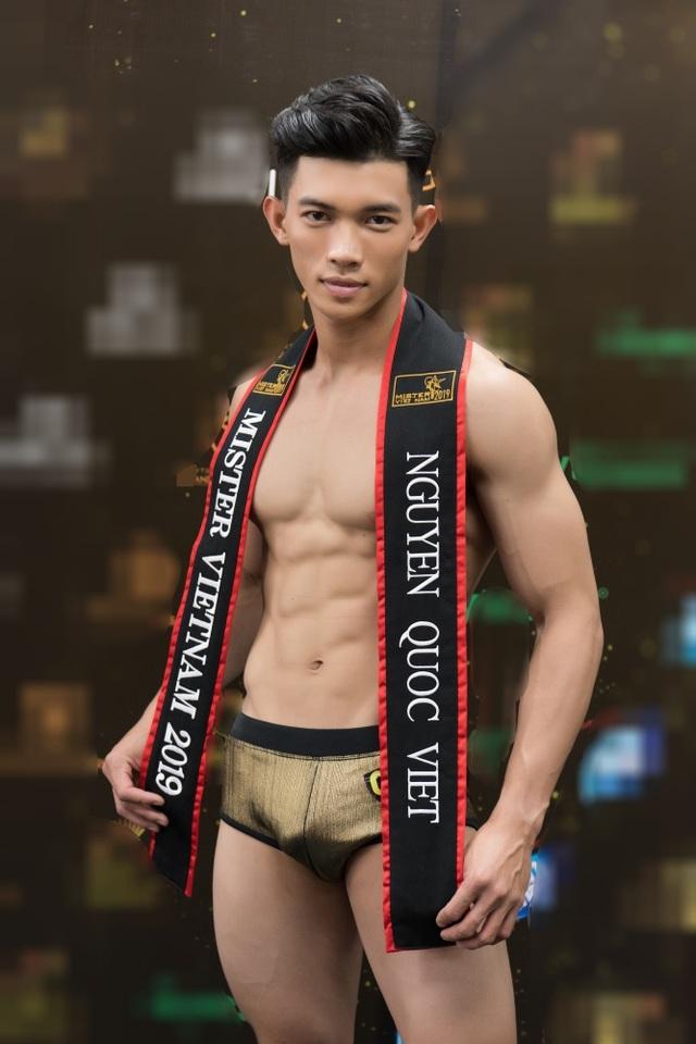 Hình thể ấn tượng của top 3 nam thần Mister Fitness - Mister Việt Nam 2019 - 6