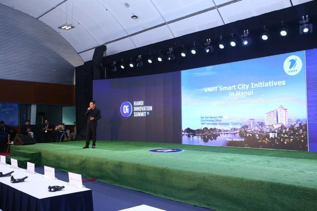 """VNPT mang mô hình """"Thành phố thông minh"""" đến Diễn đàn Khởi nghiệp sáng tạo Hà Nội 2019 - 1"""