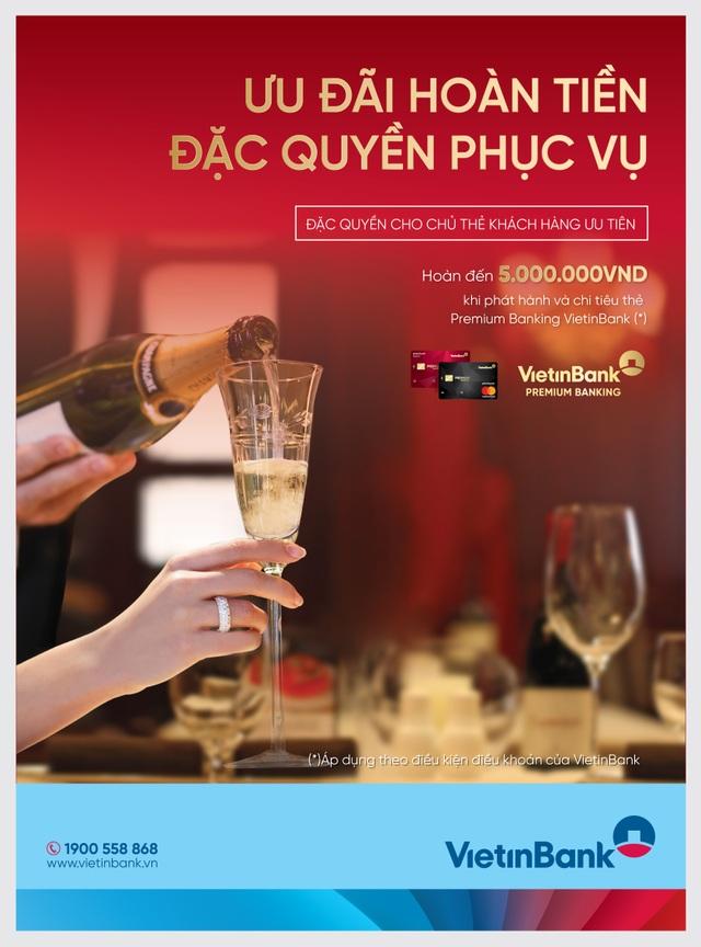 Tận hưởng ưu đãi đặc quyền cùng thẻ VietinBank Premium Banking - 1