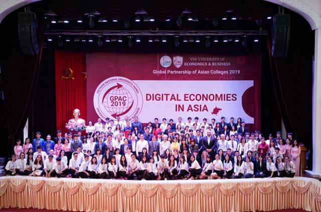 """Diễn đàn Sinh viên châu Á - GPAC 2019: """"Sân chơi"""" lý tưởng bàn luận về nền kinh tế số - 1"""